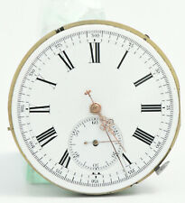 MINUTE REPEATER & CHRONOGRAPH Pocket Watch email 54 mm MINUTENREPETITION ? 1900