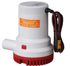 SEAFLO 12v Marine Bilge Water Sump Pump 2000GPH