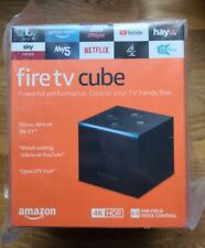 Amazon Fire TV Cube (2nd Gen) 4K UHD Alexa Smart Speaker
