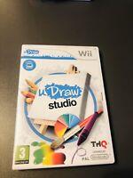 Jeu Nintendo Wii Wii U jeu udraw studio dessiner facilement En Bon État