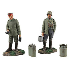 BRITAINS WORLD WAR 1 23102 1914-18 GERMAN INFANTRY WHAT'S ON THE MENU TONIGH MIB