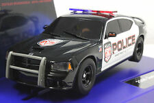 CARRERA 30441 DIGITAL 132 DODGE CHARGER POLICE CAR NEW 1/32 SLOT CAR IN DISPLAY