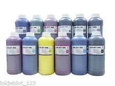 12 Pint pigment refill ink for Canon iPF8000 iPF9000 Wide-format printer