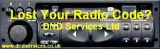 Vauxhall Radio Code Decode Unlock by Serial Number - SC 303 D (C) Grundig