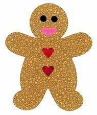 Sizzix Gingerbread Man Bigz L die #658103 Retail $29.99 Great for Applique!