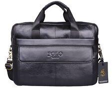 VIDENG POLO Hotest Men's Top Genuine Leather Handmade Briefcase Shoulder Mess...