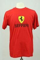 Ferrari T-shirt Herren Gr. L Rot Scuderia Enzo