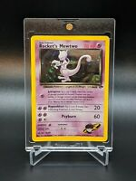 Rocket's Mewtwo 14/132 Gym Challenge Holo Rare Swirl Pokemon Card