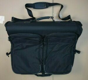Briggs & Riley Folding Wardrobe Ballistic Nylon Carry On Suitcase