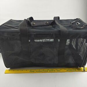 Luxury Travel Samsonite Soft Sided Airline Approved Pet Carrier  18x10x10