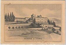 CARTOLINA d'Epoca - FIRENZE provincia - Rignano sull'Arno: Villa di Torre a Cona