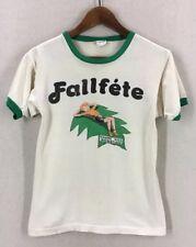 Vintage 70's Champion Blue Bar Fallfete Ringer Tshirt Size S/M USA
