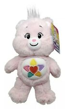 Care Bears True Heart Bear Unlock The Magic Plush Toy 20cm Pink