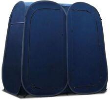 Camping Shower Toilet Tent Outdoor Portable Change Room Shelter Ensuite Blue