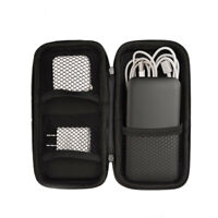 JN_ BL_ Shockproof Power Bank Charger Cable Storage Bag Travel Organizer Pouch