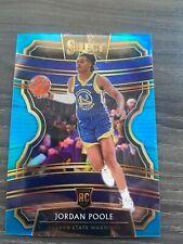 19-20 Select Jordan Poole Blue RC #D 126/299