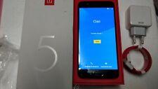OnePlus 5 128 GB 8GB RAM BLACK GRADO A+ CON SCATOLA CARICATORE E CAVO DASH