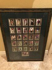 Tiger Woods Framed Making Of A Golf Champion Premiere Edition Cards Unique!