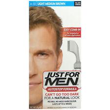 Just FOR MEN AUTOSTOP light-medium Brown A30