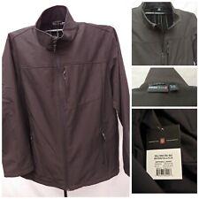 NEW SWISSTECH PEAK Softshell Black Jacket Coat 3XL 54-56 WATER WINDPROOF NWT