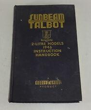 Instrucciones Servicio / Manual Del Propietario Rayo de Sol Talbot 2 Litro Stand