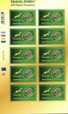 South Africa 2020 New Issue Rugby Mini Sheet
