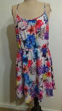 LADAKH FLORAL CROSS OVER DRESS  BNWT SIZE XL OR SIZE 14 RRP $89.95
