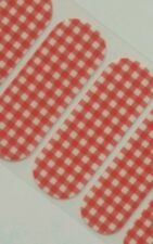 Jamberry Strawberry Gingham, 1/2 Sheet