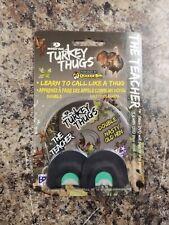"Mossy Oak ""The Teacher"" Turkey Thugs Turkey Mouth Call With Mini Dvd - New"
