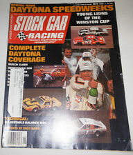 Stock Car Racing Magazine Daytona Coverage & Winston Cup May 1980 072014R