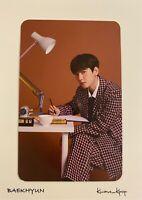 [BAEKHYUN] 2021 EXO SEASONS GREETINGS PRE-ORDER BENEFIT OFFICIAL PHOTO CARD