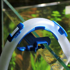 Well Use Blue Aquarium Filtration Water Pipe Filter Hose Holder Tube Tank Mount
