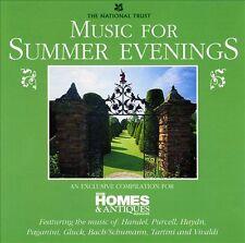 MUSIC FOR SUMMER EVENINGS: BBC CD (1998) HANDEL SCHUBERT PURCELL VIVALDI ETC