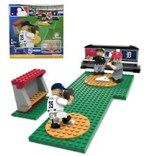 NEW OYO SPORTS MLB Buildable Playmaker Set VERLANDER TROUT & Umpire 87 Pcs!!!