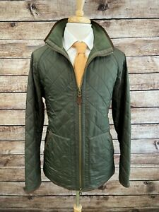 Polo Ralph Lauren Diamond Quilted Jacket Size L Green