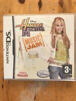 Hannah Montana Music Jam Nintendo DS NDS Brand New Sealed