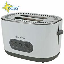 SUNTEC Toaster TOA-9240 Toastautomat Brotröster Auftaufunktion 2 Scheiben 850W