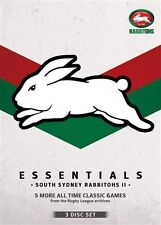 NRL - Essentials - South Sydney Rabbitohs II (DVD, 2013, 3-Disc Set)