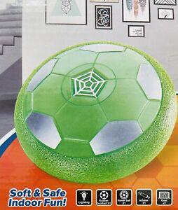 LED GLIDING HOVER BALL INDOOR FOOTBALL GAME KIDS & ADULT 2 BALLS 2 GOALS TOYS UK