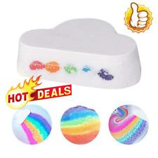 Natural Cloud Rainbow Bath Salt Ball Essential Oil Funny Bubble Bath Bombs 110g