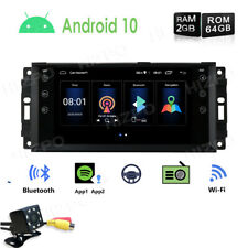 "Android PIP 7"" Car Stereo Radio GPS Navi Wifi HeadUnit For Jeep Dodge Chrysler E"