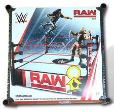 WWE Raw Ring Spring Loaded Mat Wrestling Superstar 2018 Mattel