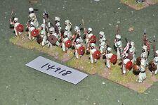 25mm medieval / turkish - seljuk infantry 20 figs - inf (14918)