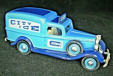 More details for mint brooklin model brk 16a 1935 dodge van with ohio city ice delivery decals
