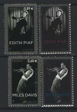 JOINT  ISSUE  2012  USA - FRANCE  MUSICIANS   EDIT  PIAF - MILES   DAVITS