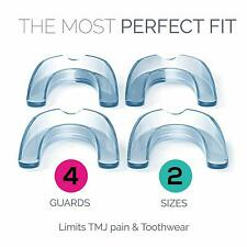 DentalCare Labs Teeth Grinding Mouth Guards for Adults x4