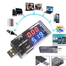 USB Volt Meter Ammeter Charger Battery Tester Current Voltage Detector 2017 KY