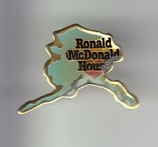 RARE PINS PIN'S .. MC DONALD'S RESTAURANT USA ALASKA CARTE MAP HOUSE RONALD ~17