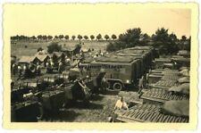Orig. Foto Nachrichten Wagenpark K.N.A.43 in PLAUEN Funkwagen Kübelwagen 1936