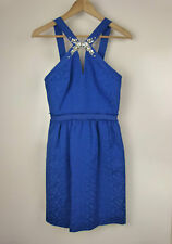 REBECCA TAYLOR Dress BNWT Cobalt blue Sz 2 Evening cocktail event RRP: $575